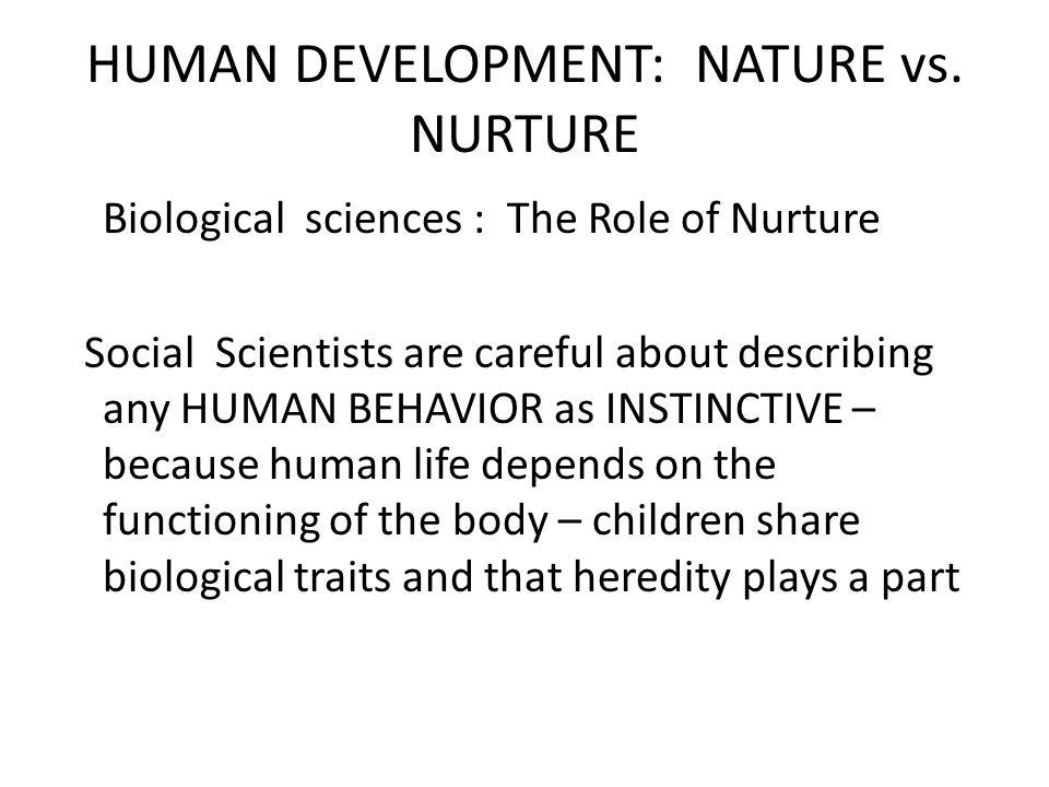 nature versus nurture freud versus mead Describe the nature versus nurture debate psychology  the long-standing dispute over the relative contriburions of nature (heredity) and nurture.
