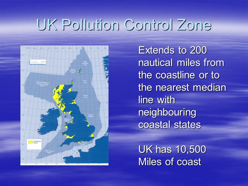 UK Pollution Control Zone