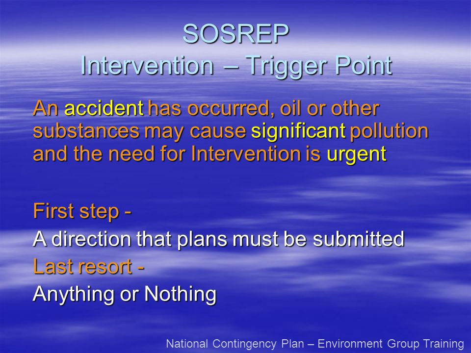 Intervention – Trigger Point