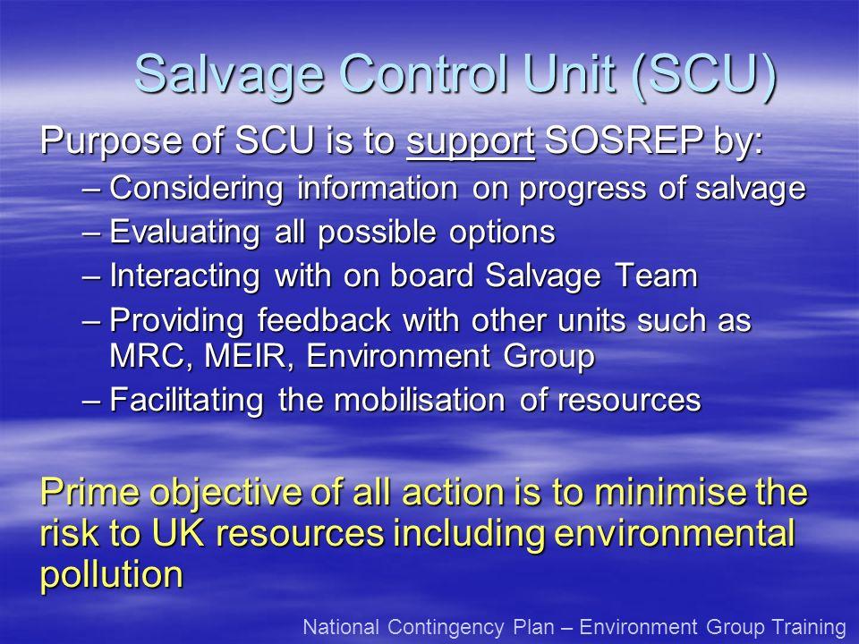 Salvage Control Unit (SCU)