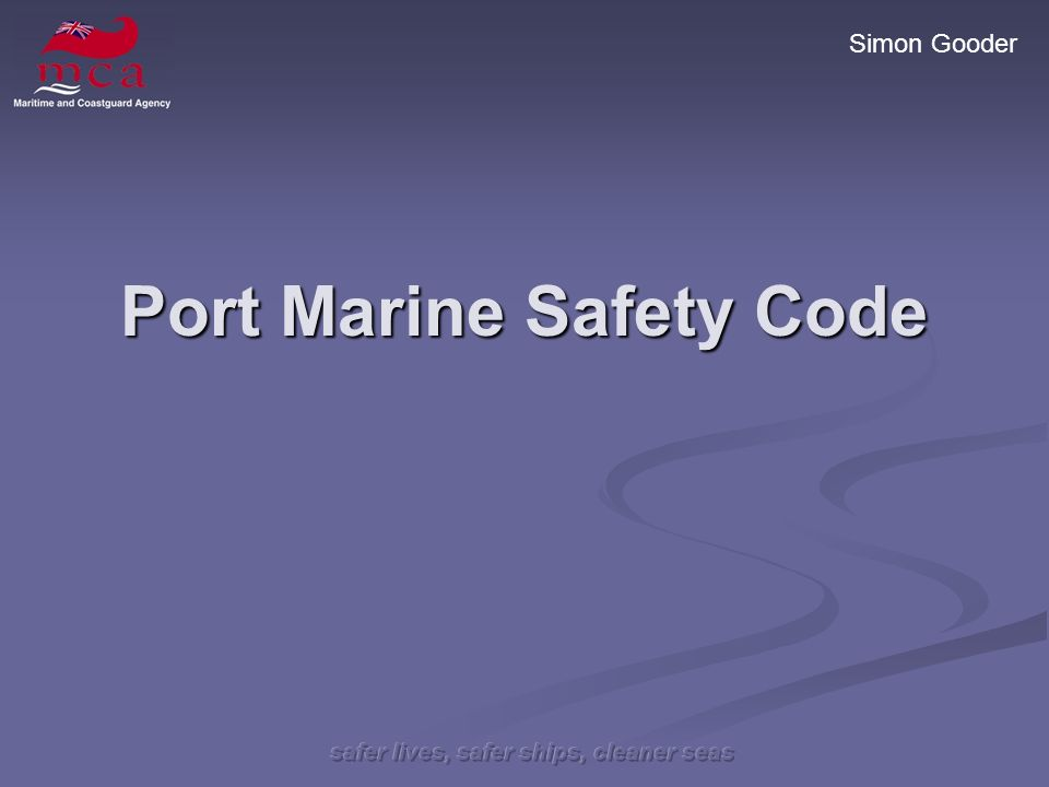 Port Marine Safety Code