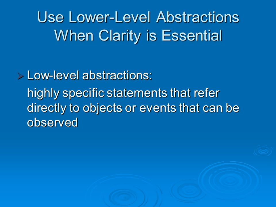 ambiguous terms to avoid white paper