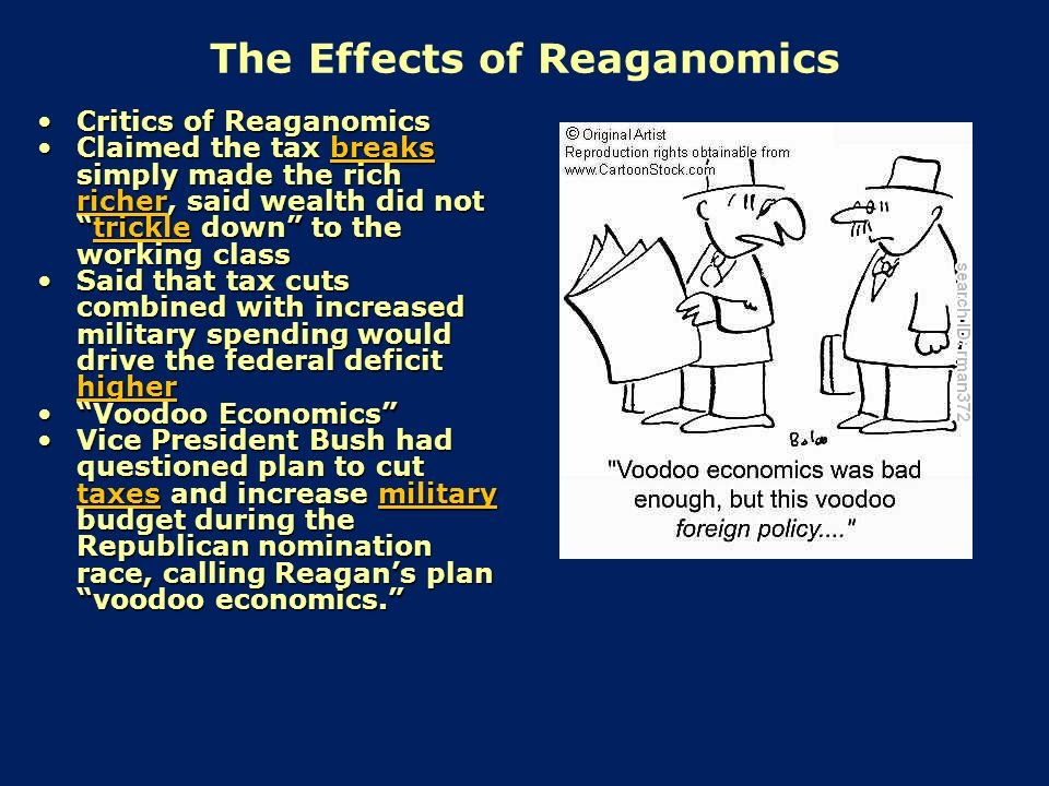 the reagan tax cuts and foreign policy A summary of domestic policy: 1981–1989 in 's ronald reagan  domestic policy: 1981–1989 foreign policy:  reagan reasoned that if these tax cuts at the top.