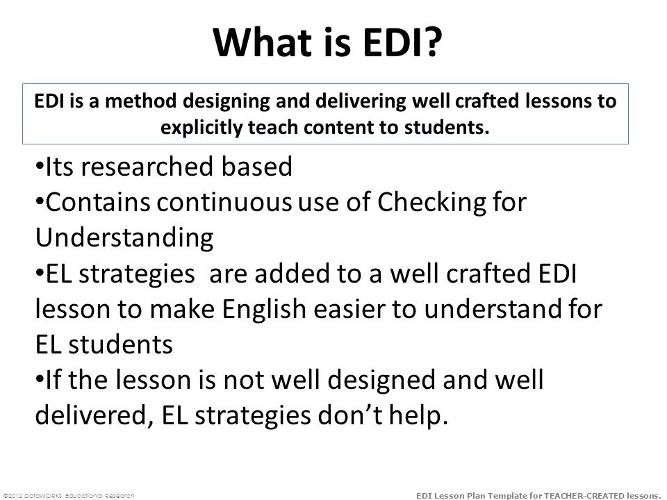 What Is Edi Its Researched Based Ppt Download