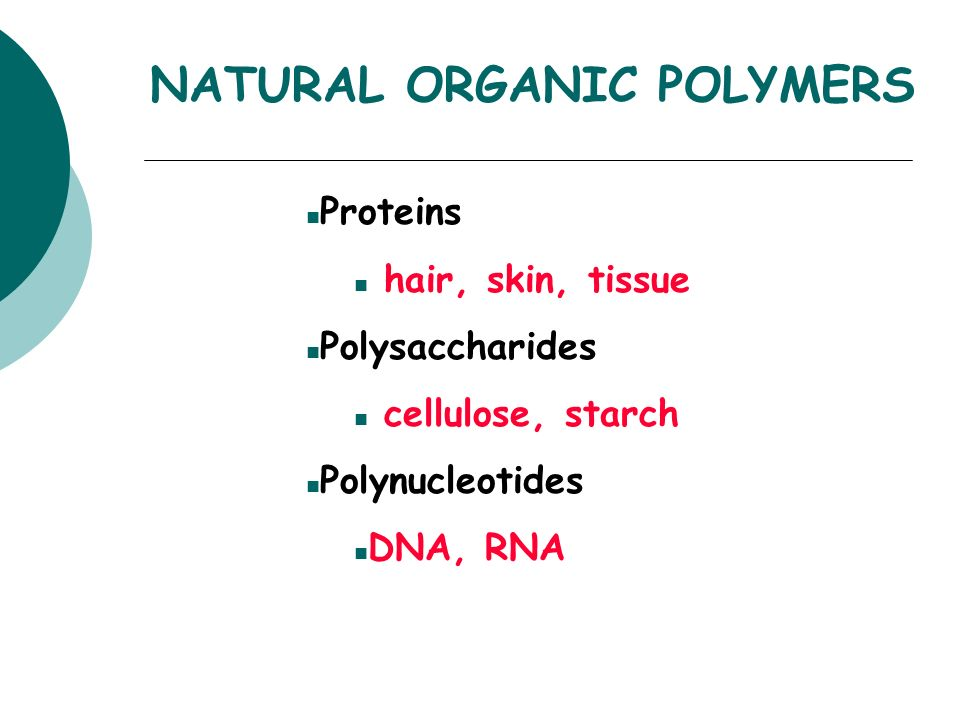 Proteins Are Natural Polymers Made Up Of