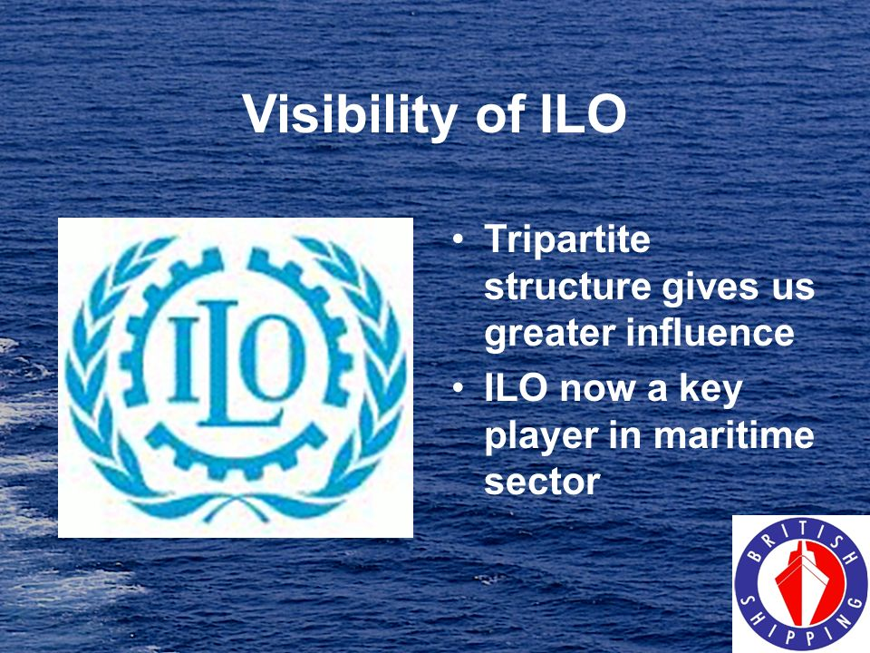 Visibility of ILO Tripartite structure gives us greater influence
