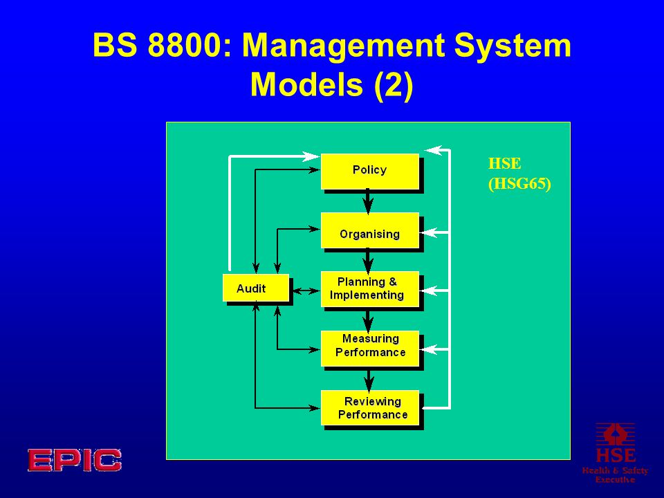 BS 8800: Management System Models (2)