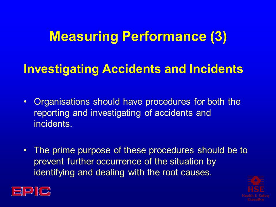 Measuring Performance (3)