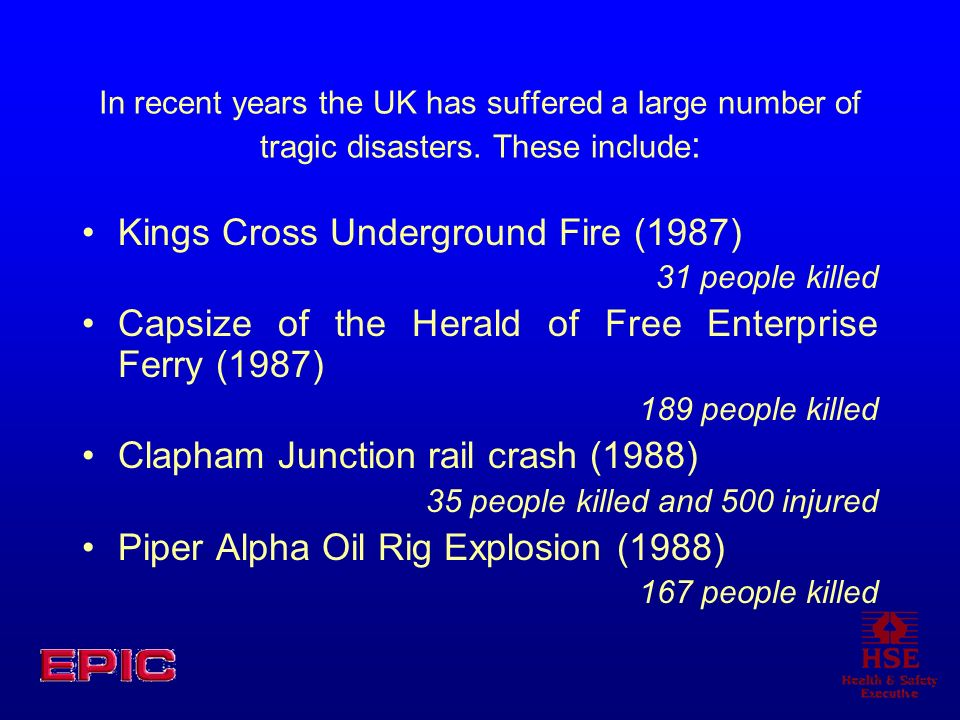 Kings Cross Underground Fire (1987)