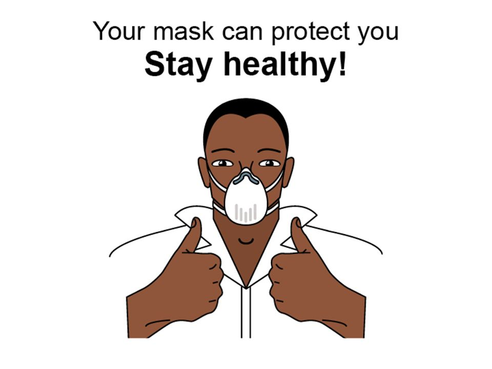 Your mask can protect you