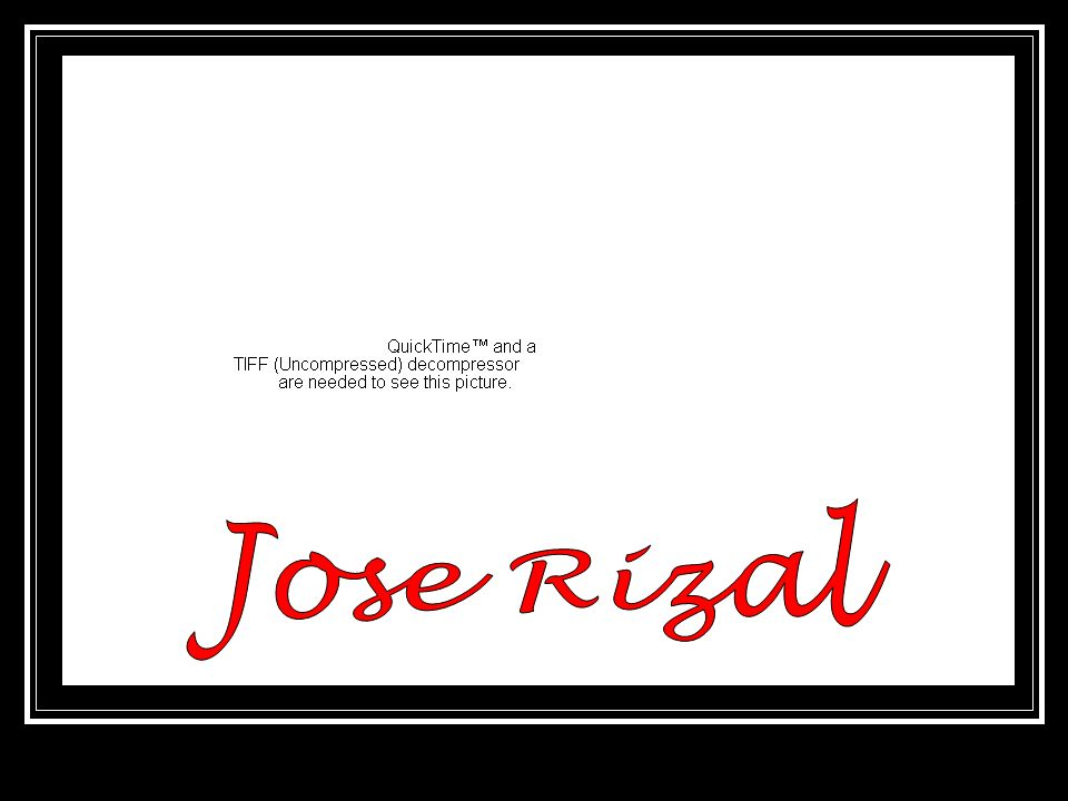 Jose rizal ppt video online download 1 jose rizal toneelgroepblik Gallery
