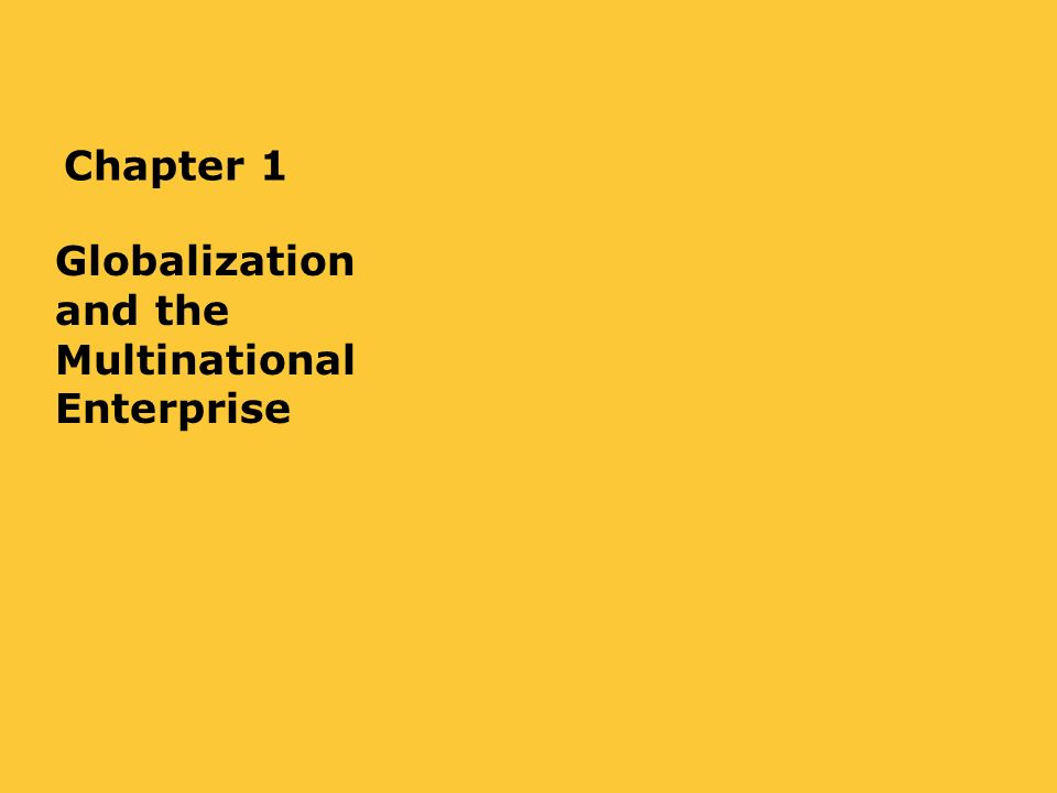 globalization and the multinational enterprise Lane, c the emergence of german transnational companies: a theoretical analysis and empirical study of the globalization process in g morgan , p h kristensen & r whitley (eds), the multinational firm oxford: oxford university press , 2001, pp 69-96 google scholar matten, d & crane, a corporate citizenship:.