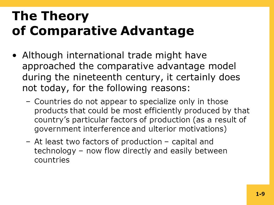 opportunity cost theory of international trade pdf