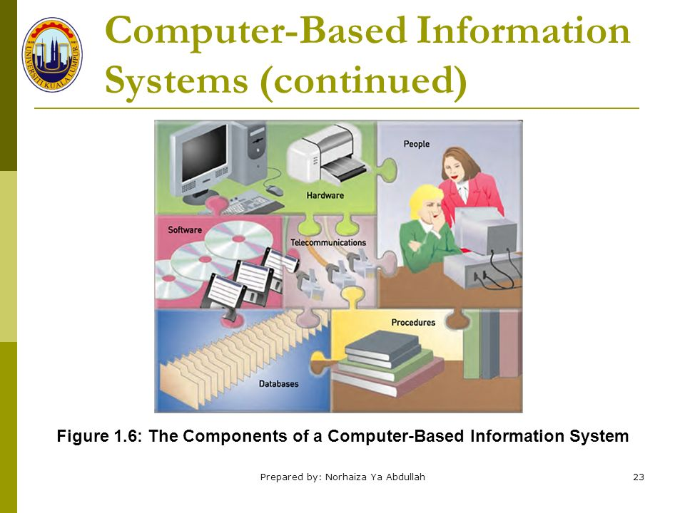 computerize information system Data are calculated and processed on a daily basis through computers in business, at home, and in education data are essentially the raw facts that are usually typed into a computer we call these raw facts due to them being unorganized they can come in any form from audio and visual, to text.