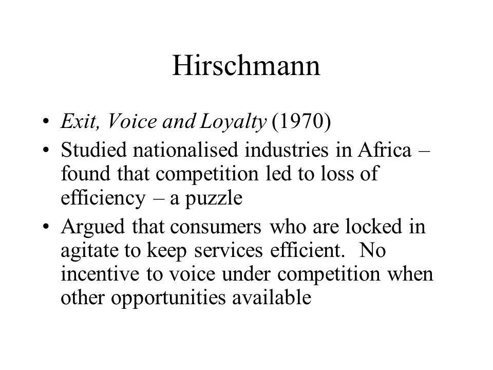 exit voice and loyalty pdf