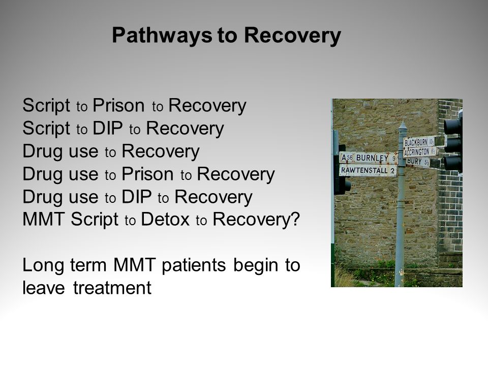 Pathways to Recovery Script to Prison to Recovery