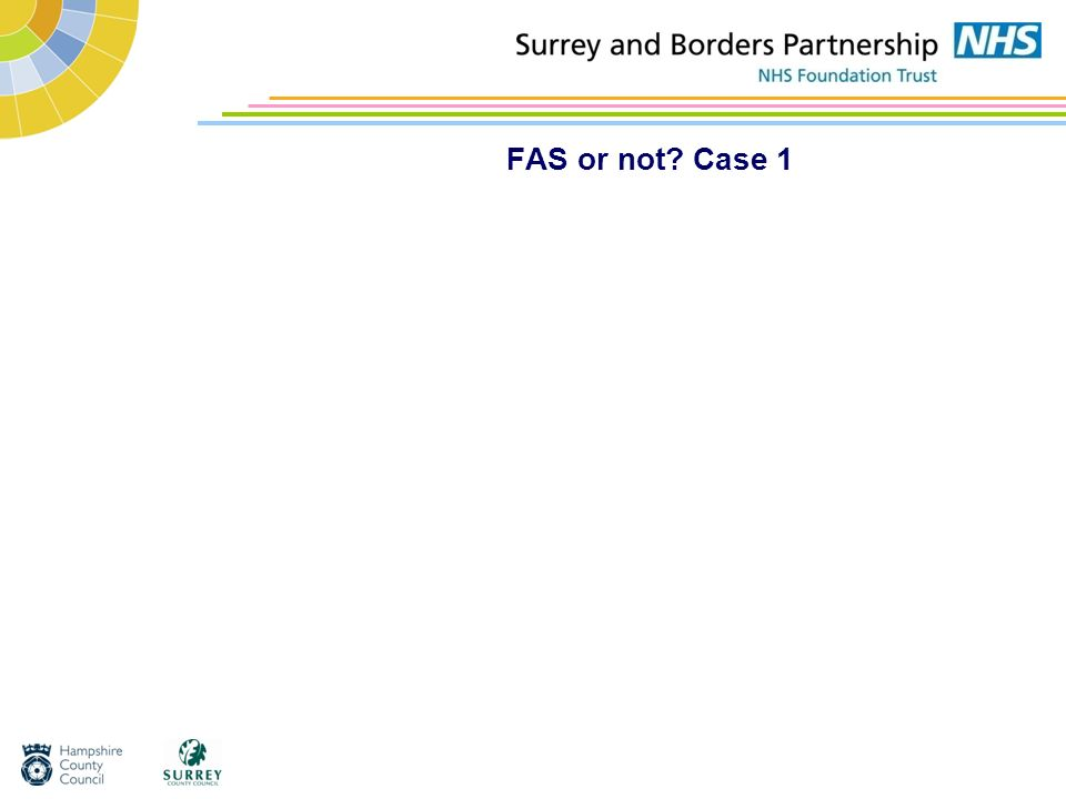 FAS or not Case 1
