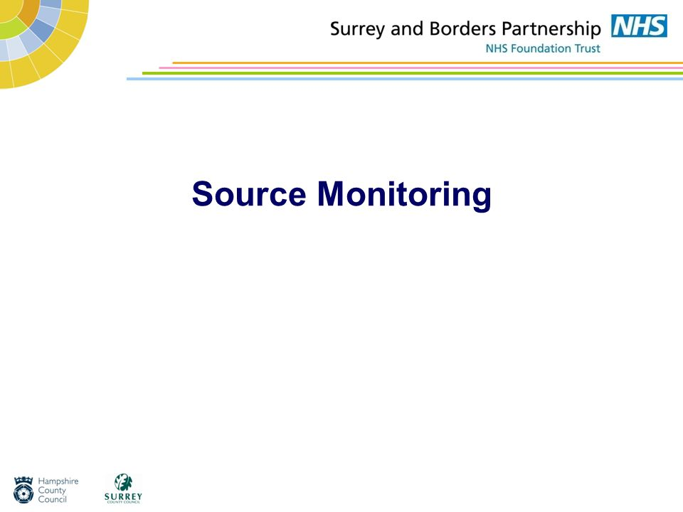 Source Monitoring