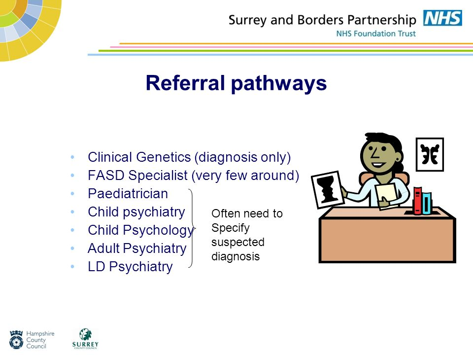 Referral pathways Clinical Genetics (diagnosis only)