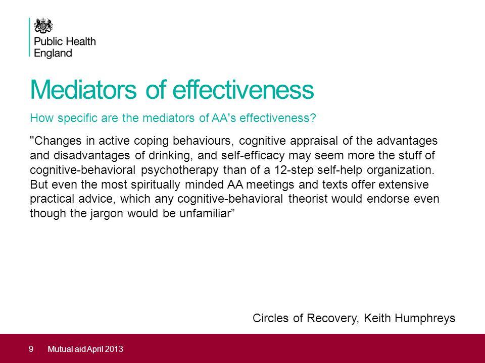 Mediators of effectiveness