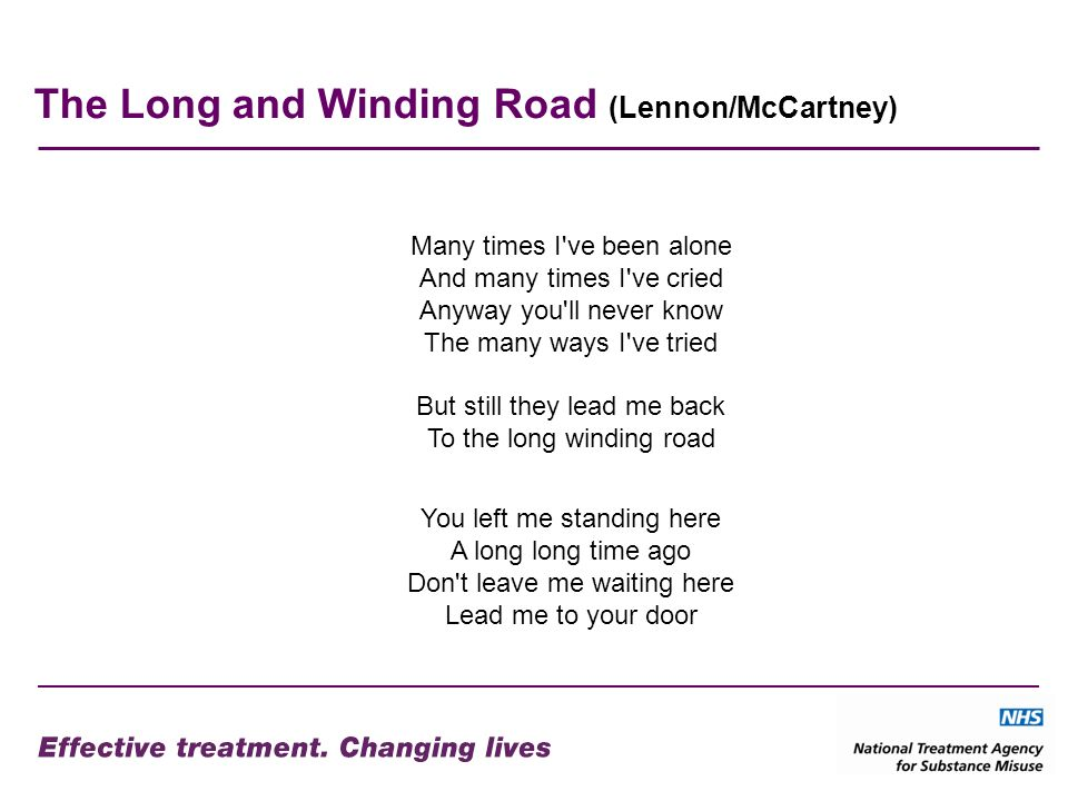 The Long and Winding Road (Lennon/McCartney)