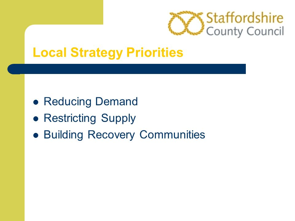 Local Strategy Priorities