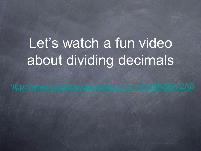 math worksheet : divide with decimals standard uw gap 5 m nbt 07 add subtract  : Dividing Decimals Video