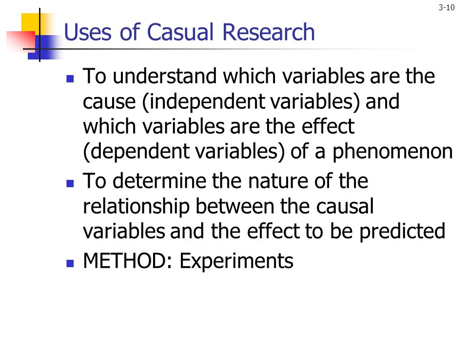 What is causal research? definition and meaning ...
