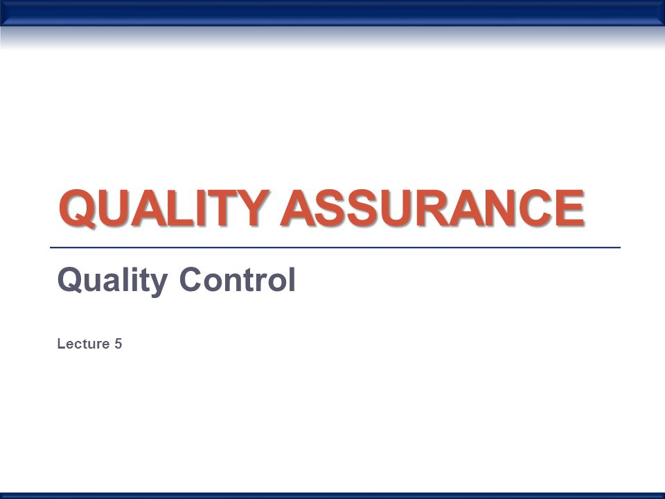 quality control procedure manual An official document produced by a business that details how its quality management system operates a typical quality manual will include the company's quality policy and goals, as well as a detailed description of its quality control system that might include staff roles and relationships, procedures, systems and any other resources that.