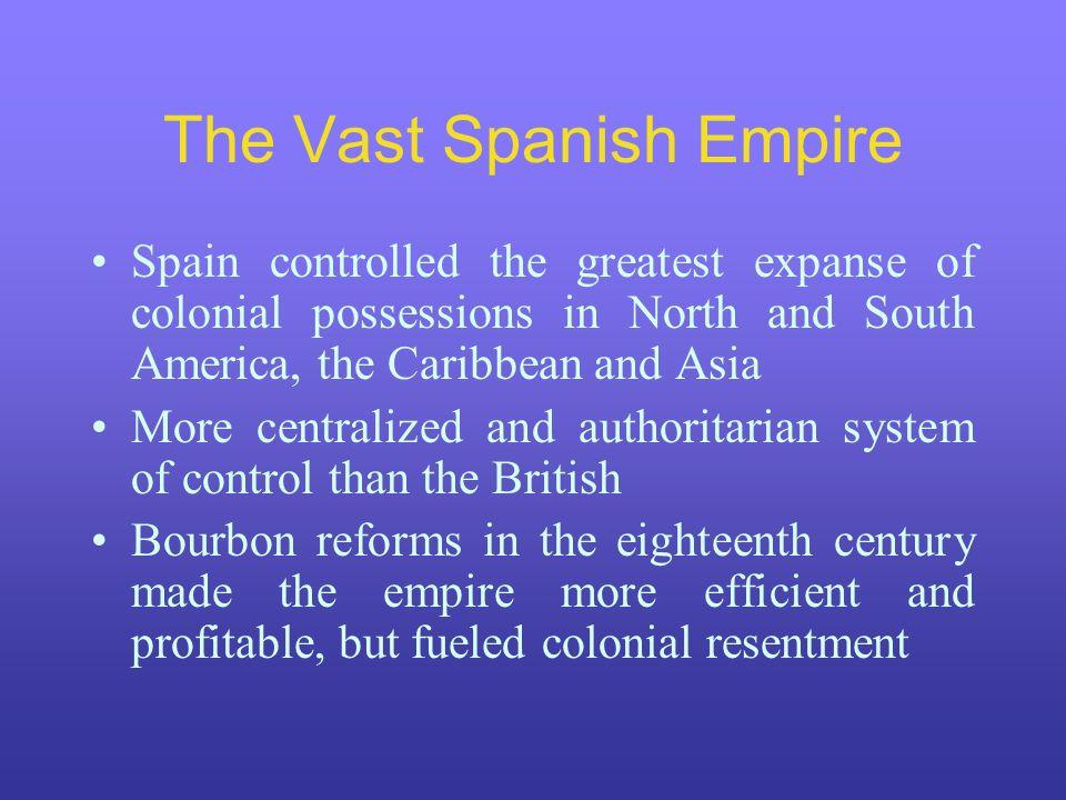 The Vast Spanish Empire