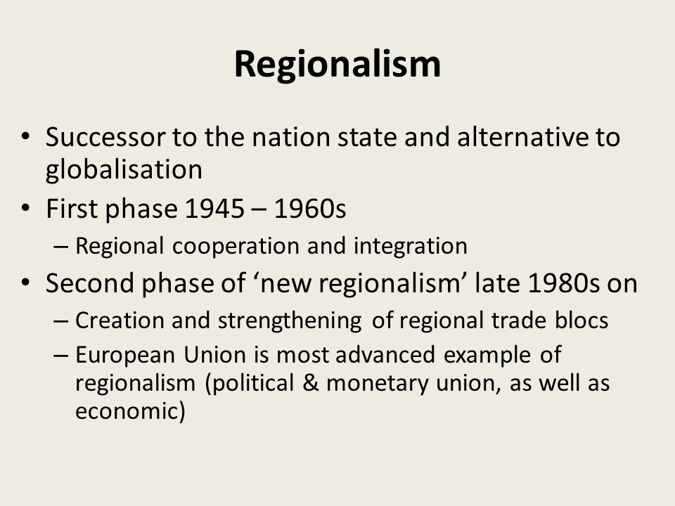 an exploration of the concepts of nationalism and regionalism 7 nationalism between regionalism and european integration  both concepts  of the nation and nationalism are still subject to scienti   c  an exploration of.