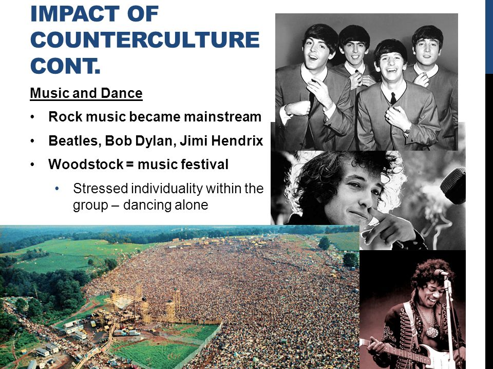 Cultural effects of woodstock