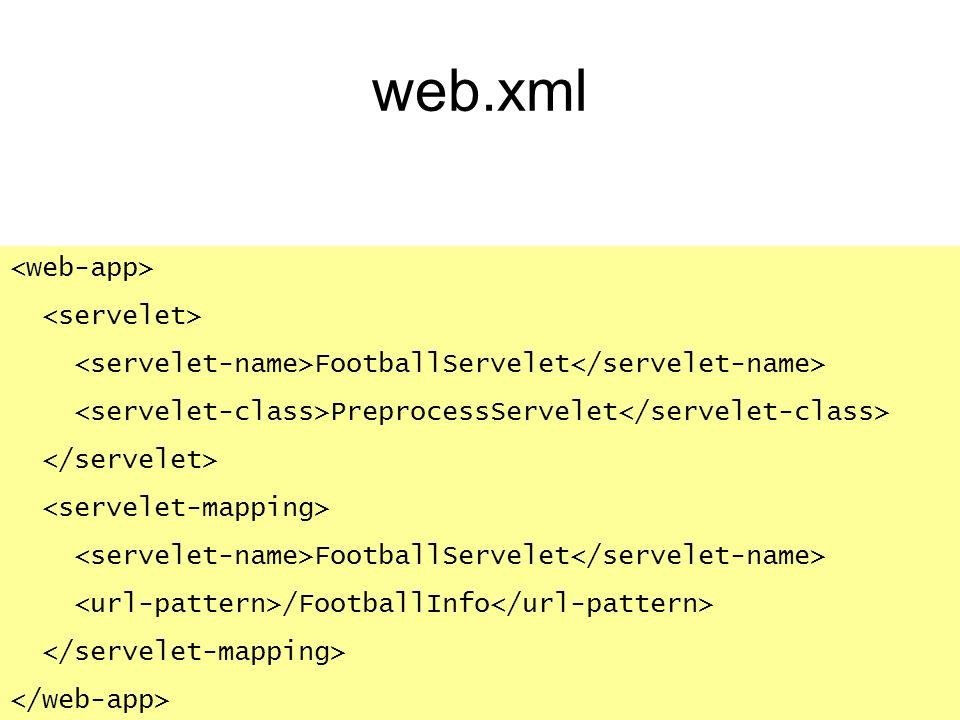 web.xml <web-app> <servelet>