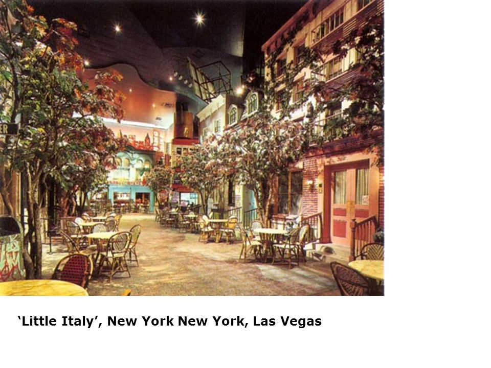 'Little Italy', New York New York, Las Vegas
