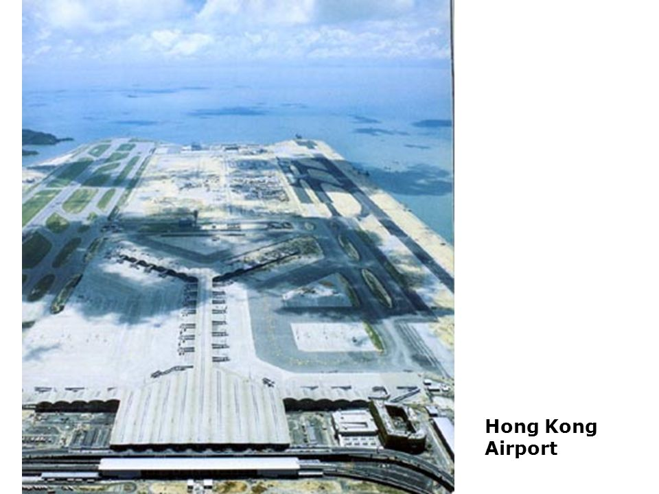 Airports are particular examples of what Auge refers to as Non-places