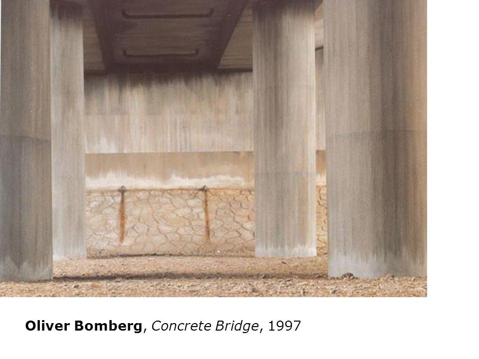 Oliver Bomberg, Concrete Bridge, 1997 Willie Doherty 2000