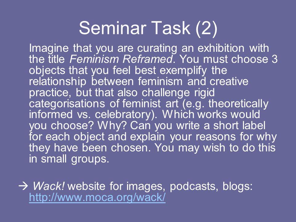 Seminar Task (2)