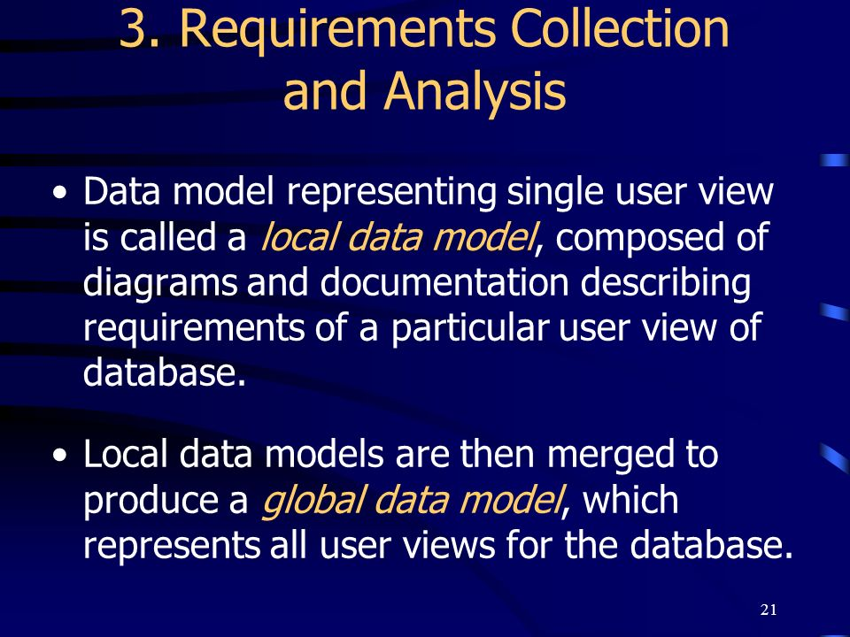 3. Requirements Collection and Analysis