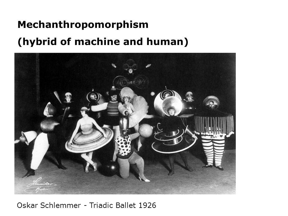 Mechanthropomorphism (hybrid of machine and human)