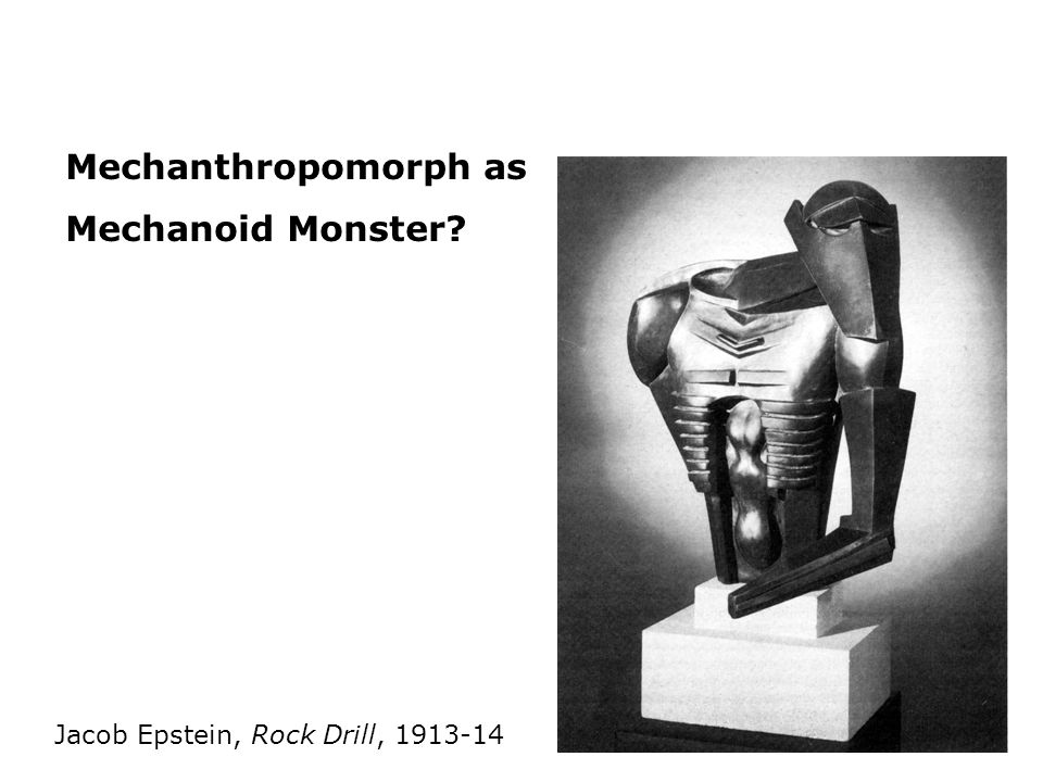 Mechanthropomorph as Mechanoid Monster