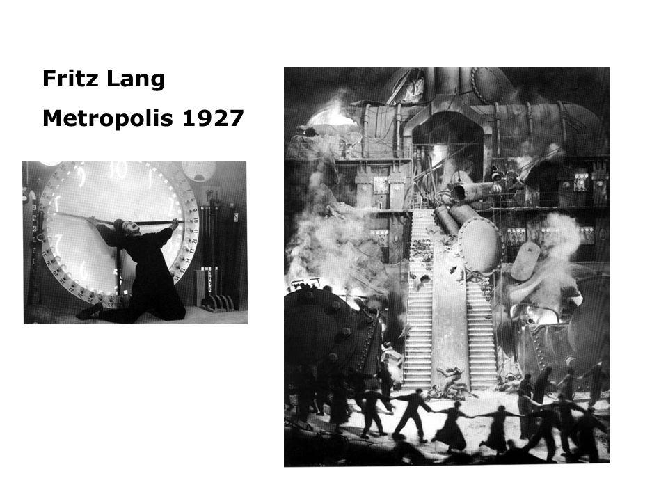 Fritz Lang Metropolis 1927.