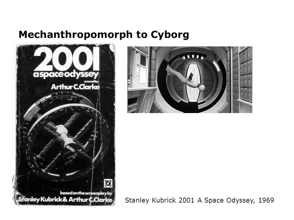 Mechanthropomorph to Cyborg