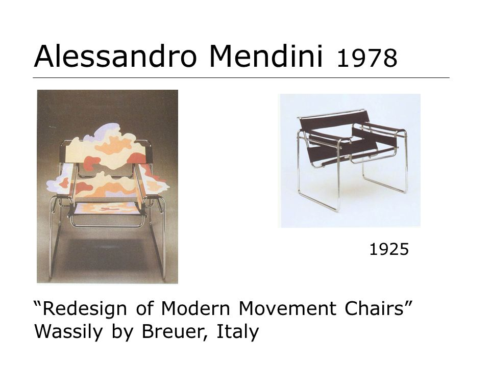 Alessandro Mendini 1978