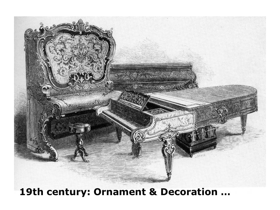 19th century: Ornament & Decoration …