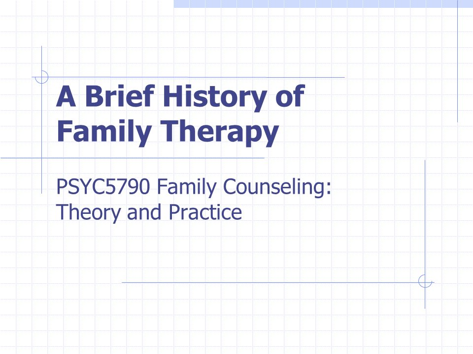 the impact of history and counseling Past influences, present trends, and future challenges —7 therapy is increasingly being recognized for its  tors that all impact the practice of counseling.