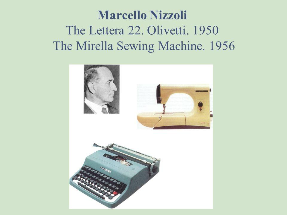 Marcello Nizzoli The Lettera 22. Olivetti