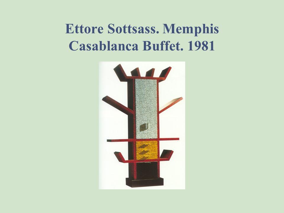 Ettore Sottsass. Memphis Casablanca Buffet. 1981