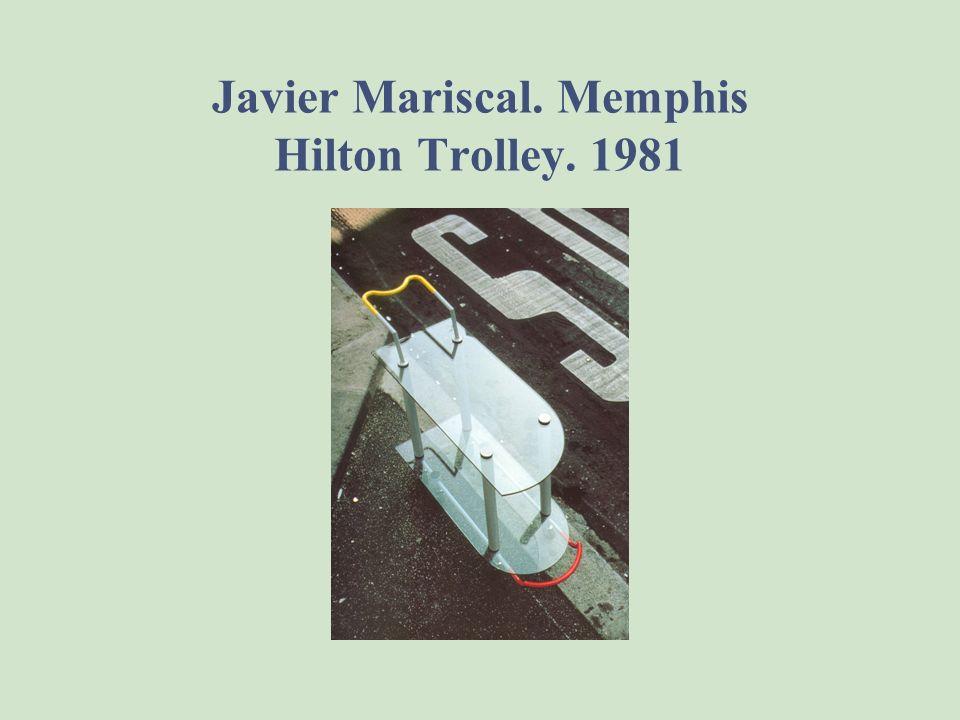 Javier Mariscal. Memphis Hilton Trolley. 1981