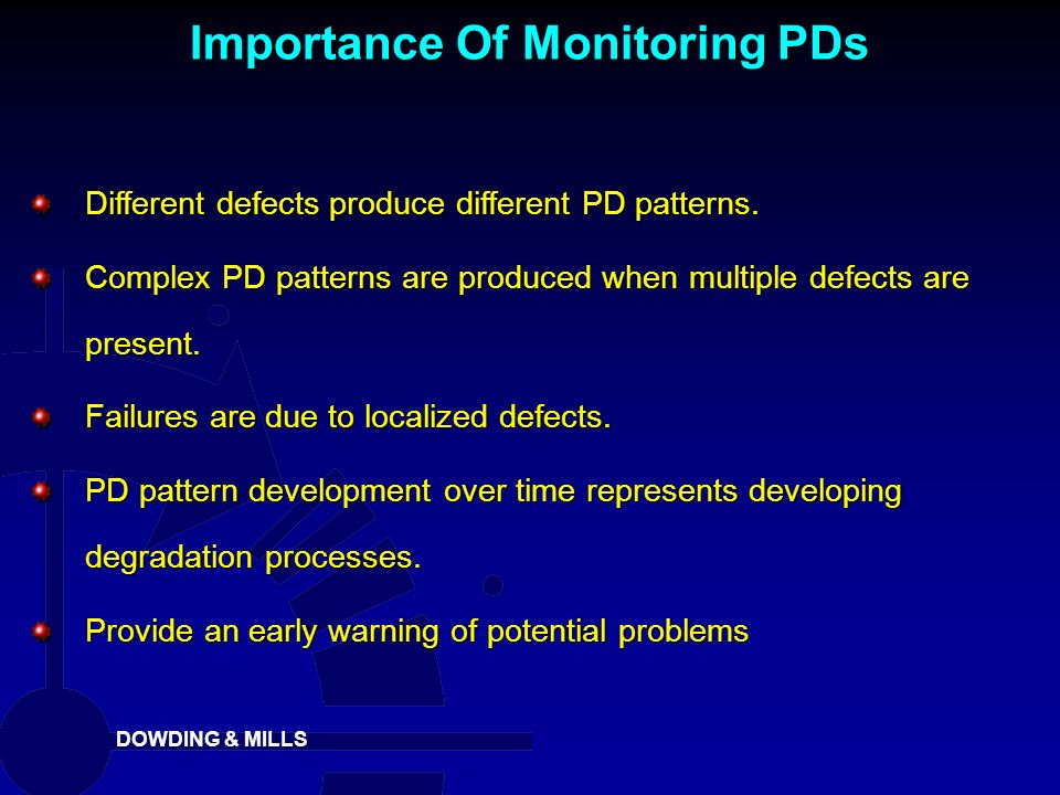 Importance Of Monitoring PDs