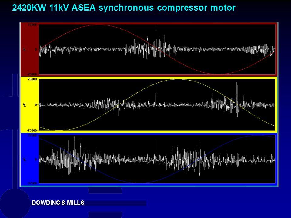 2420KW 11kV ASEA synchronous compressor motor
